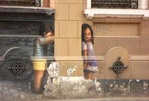 Arte de rua / Meu inventário de belas artes urbano.