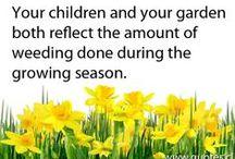 Garden quotes / by Leonie Bouwman-Verloop