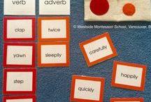 Language Montessori Materials / Montessori and montessori-inspired activities and material about language development and language area