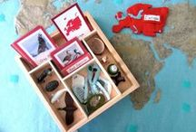 Geography Montessori Material / Montessori and montessori-inspired activities and printables that cover Geography area