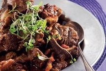 Red meat meals / Sumptuous ideas for meals with red meat