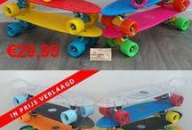Malimawebshop ruimt op / Skateboards diverse merken zoals Swass en Shogun sterk in prijs verlaagd. Wees er snel bij beperkte voorraad