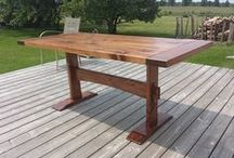 Tables / Custom Built Tables by 8th Line Creations