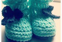 Crochet / baby boots