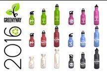 Boltellas de acero inoxidable 2016 / Bonitas botellas de acero inoxidable. Ecológicas y saludables. Nuevos diseños y nuevos tamaños.