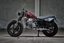 #Motorecyclos BritBrum / #custom #motorcycles Motorecyclos #bikes Brit-Brum #scrambler based on #Honda cx 500