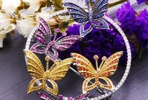 High-precision calibrated gemstones jewelry