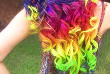 Hair colors / Hair colour