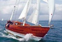 SAILING / My other great passion other than design is my sailing boat SURAYA. A lifelong love of traditional wooden boats.