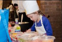 2014 Healthy Kids Cook-Off / We support parents and nurture kids so they can cook and eat healthier. Our programs make healthy cooking fun for kids while helping their grown-ups learn how to be better healthy food ambassadors for themselves and their families.