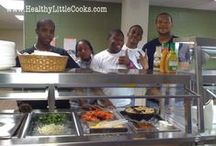 In-School Classes / Expose your students to a healthy cooking class during the school day.  We will set up a mobile kitchen in your school's classroom and lead students through an interactive 30-50 minute cooking class.