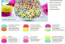 create a scent / Wax melts, Partylite and scentsy