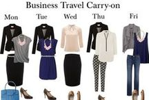 Fashion on the Go! / Fashion tips ans style for the traveler