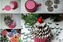 Creative DIY Gift Box, bag...