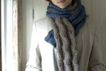 Free patterns - knitted and crotchet scarves