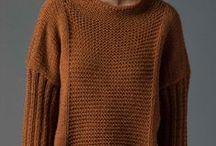 Free patterns - knitted and crotcher jumpers