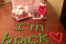 Elf on the shelf ideas / Elf
