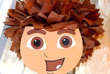 2 jarig feestje - Go Diego Go / 2 jarig feestje voor mijn zoon. Hij vindt Dora geweldig, maar ik geef er een jongens draai aan door voor Diego en Dora te kiezen. Diego zal wel overheersen toch om een duidelijk thema te hebben.