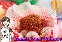 Comida de Festa - Food Party / Receitas de Comida de Festa - Doces e Salgadas - Food Party Recipes - Sweet and savory