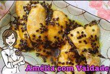 Frango - Chicken - Pollo / Receitas com Frango - Recipes Chicken