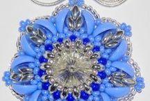 moje práce / šité šperky z korálků