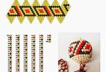 háčkované kuličky-schéma