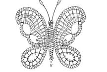Paličkování Motýli