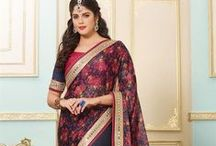 Designer Sarees Collection Online by LooksLady / Look your #ethnic best by draping yourself into our latest and most #stylish collection of Indian designer #sarees online at discounted price from leading online shopping store for women - LooksLady.com View Collection: http://www.lookslady.com/sarees/designer-sarees