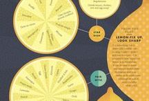 Infographics / Nice colours to great illustrations