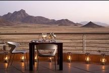 Luxury Namibia Accommodation / As featured in our 8 Day Bushmen, Balloon and Beach Safari, &Beyond Sossusvlei Desert Lodge is one of Namibia's premium properties situated in the heart of the Namib Desert in Southern Africa. Experience sheer silence, total tranquillity and romantic luxury.
