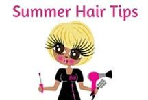 Summer Hair Care Tips / Here is where you will find all my hair care tips to keep you looking your best this Summer...x