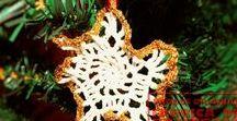 ornamente Craciun / Craciun, Christmas, glob, ornament, handmade, croseted, crosetat
