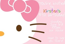Hello Kitty Party / by Liz Campa