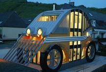 Architecture :: Oddities / Oddball houses / by Krafty Kat