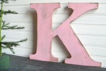 The Letter K / K and more K's / by Krafty Kat