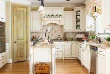 Cottage Kitchen Ideas / by Lonna