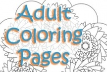 Just Color! / Pages to color! What fun!