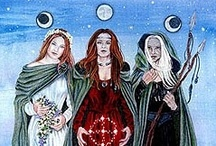 Triple Goddess-Maiden, Mother, Crone / Triple Goddess - Maiden, Mother, Crone
