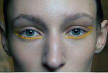 cool, crazy make-up