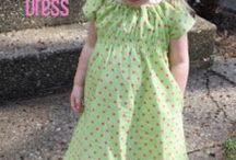 Sommer kjole  / Det er lett å sy