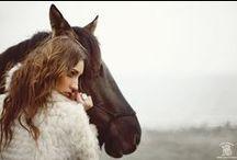 Vintage horse shoot