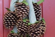 herfst knutsels / knutselen met herfstproducten