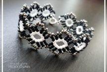Biżuteria koralikowa / #beading #jewelry #handmade #beadweaving
