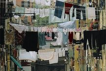 A hanging out her linen o ... / by Liz Redman