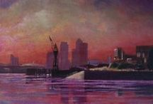 Cityscapes / Artworks depicting a city by ADO Artists