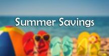 Summer Savings / Summer has arrived! With it comes the general summer rush to buy all you need to make your summer memorable. Don't look back with regret for spending too much- there are plenty of summer deals available, plus hundreds of cheap, DIY activities to keep you busy this summer!