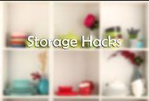 Storage Hacks / Organization is Key!
