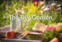 The DIY Garden / Turn your back garden into paradise this summer with these DIY ideas and supplies.