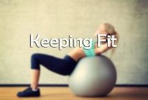 Keeping Fit / Keeping fit and living a healthy lifestyle doesn't have to mean waking up at the crack of dawn to go to the gym. There are plenty of cheaper ways to stay fit.