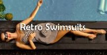 Retro Swimsuits / Get your glam on with these gorgeous Retro Swimsuits!